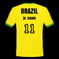 voetbal landenshirt brazilli