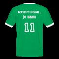 portugal home soccer shirt