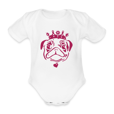 ... /white-pug-with-crown-and-heart-pendant-baby-bodysuits-C4408A12761771