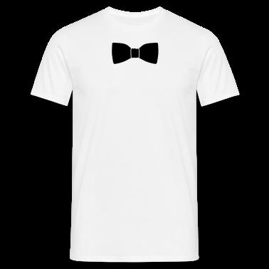 Weiß Fliege © T-Shirts
