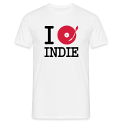 I dj / play / listen to indie T-Shirts