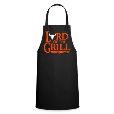 Black lord_of_the_grill Aprons