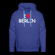 Pullover & Hoodies ~ Männer Kapuzenpullover ~ I love Berlin Kaputzenpullover