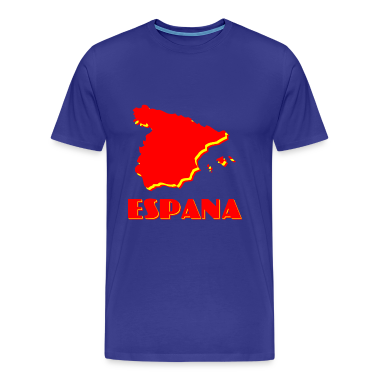 Royal blue Espana2 Men's T-Shirts