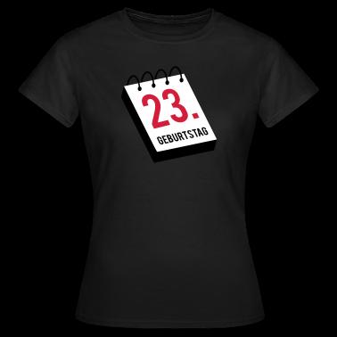 23. Geburtstag T-Shirts