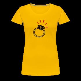 Ein Ring für die Braut | T-Shirt für den Junggesellinnenabschied