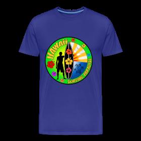 Hawaii Surfing T Shirt Surf Design
