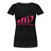 Evolution handball spielerin 1c Tee shirts