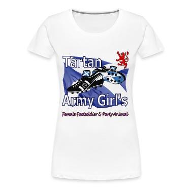 Tartan Army Girls Scotland Football