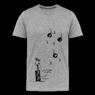 Tee shirts ~ Tee shirt Premium Homme ~ Non aux reseaux sociaux