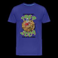 Tee shirts ~ Tee shirt Premium Homme ~ Conquëte espace homme bleu ciel