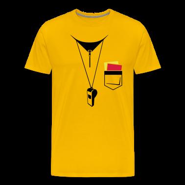 Arbitro - Calcio - Mappa e fischietto T-shirt