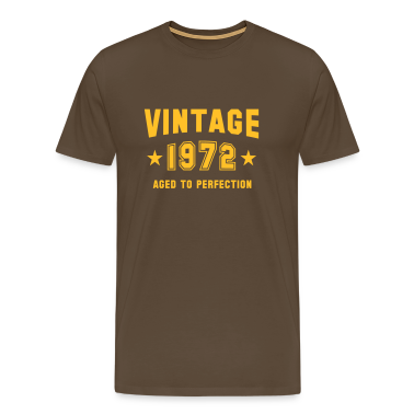 VINTAGE 1972 T-Shirt - Aged To Perfection YB