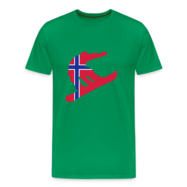Snowboarding, Winter, Snow, Schnee, Norge, Noreg, Norway, Flags, Flaggen, Fahnen, Länder, countries, www.eushirt.com T-Shirts
