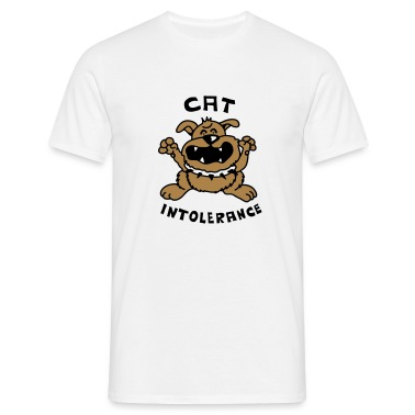 Cat intolerance T-Shirts
