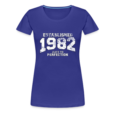 established 1982 - aged to perfection (it) T-shirt
