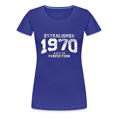 established 1970 - aged to perfection (uk) T-Shirts
