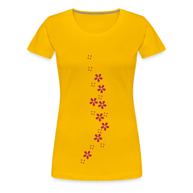 Blumen-Girlande / flower garland (b, 1c) T-Shirts