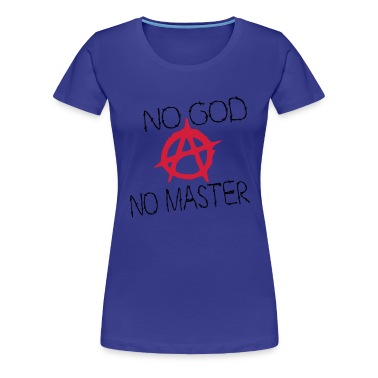 no god no master T-Shirts