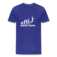 Men's Premium T-Shirt with design Basketball Evolution Dunk