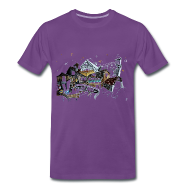 Camiseta Hombre - Gondola Arte Venecia