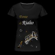Femme T-shirt - Pont du Rialto, Venise