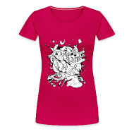 T-Shirts ~ Women's Premium T-Shirt ~ Action Bunnies