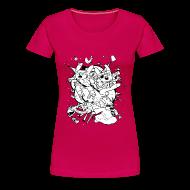 T-Shirts ~ Women's Premium T-Shirt ~ Action Bunnies
