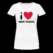 T-Shirt Personnalisé I Love Noël 6