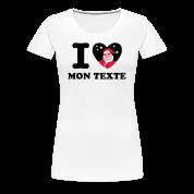 T-Shirt Personnalisé I Love Noël 10