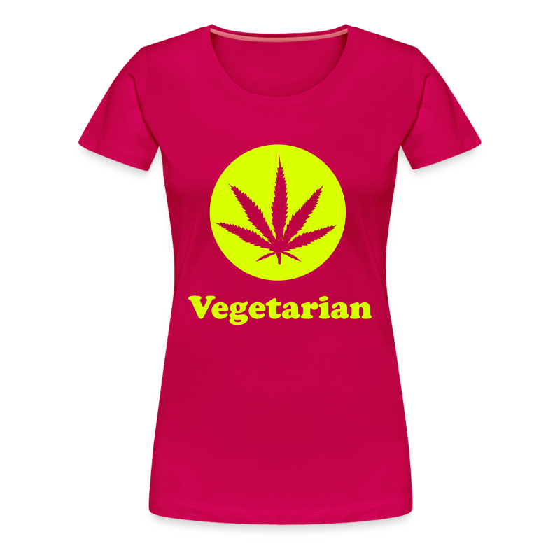 Vegetarian Version Zwei Frauen T-Shirt - Frauen Premium T-Shirt