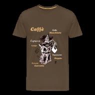 Camisetas Arte y Diseño - Café Italiano