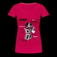 Femme T-shirt - Café Art Dessin