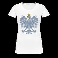 T-Shirts ~ Women's Premium T-Shirt ~ Orzeł srebrny