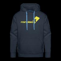 Men's Hoodie - Yellow Renoise Logo