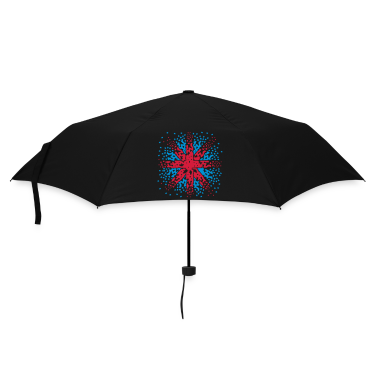 Black England Flag - Union Jack pixels Look Umbrellas