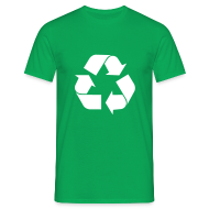 T-shirts ~ Mannen standaard T-shirt ~ Leonards Recycle Shirt (S02E14)