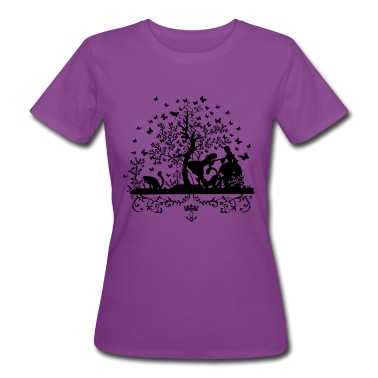 Rendezvous at the butterfly tree Women's T-Shirts