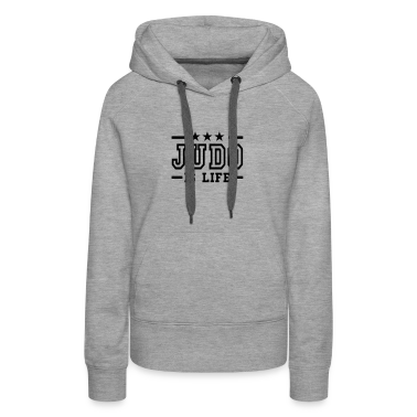 judo is life deluxe Hoodies & Sweatshirts