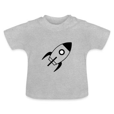 spaceship T-shirt neonato