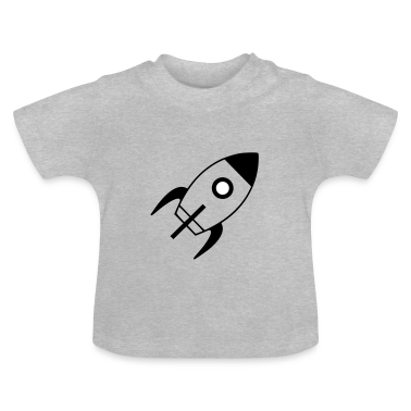 spaceship T-shirt neonato