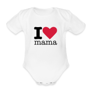 Shirts ~ Rompertje ~ I love mama