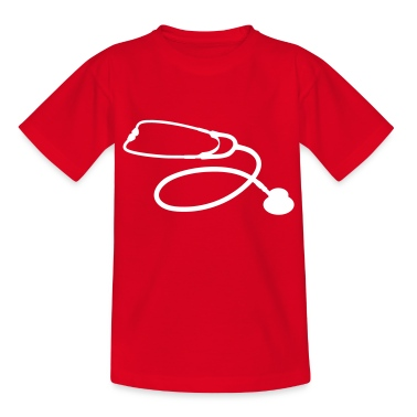 stetoscope doctor Kids' Shirts