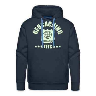geocaching - 5000 caches - TFTC / 1 color Hoodies & Sweatshirts