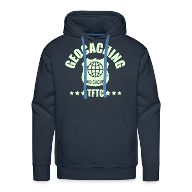 geocaching - 5000 caches - TFTC / 1 color Hoodies & Sweatshirts