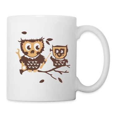 Owls do it yourself kit Mugs