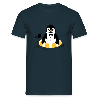 The Penguin with a life ring T-Shirts