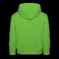 oranje kinder sweater met similey