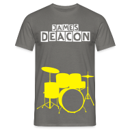 T-Shirts ~ Men's Standard T-Shirt ~ James Deacon Drums