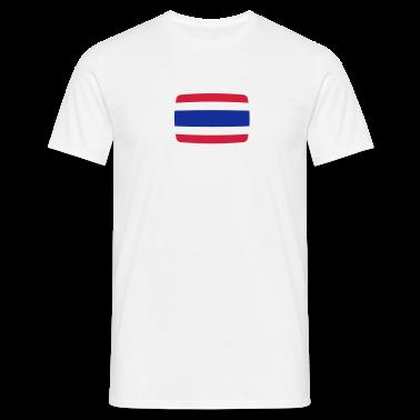 Bandiera della Thailandia Thailandia Bandiera Thai T-shirt